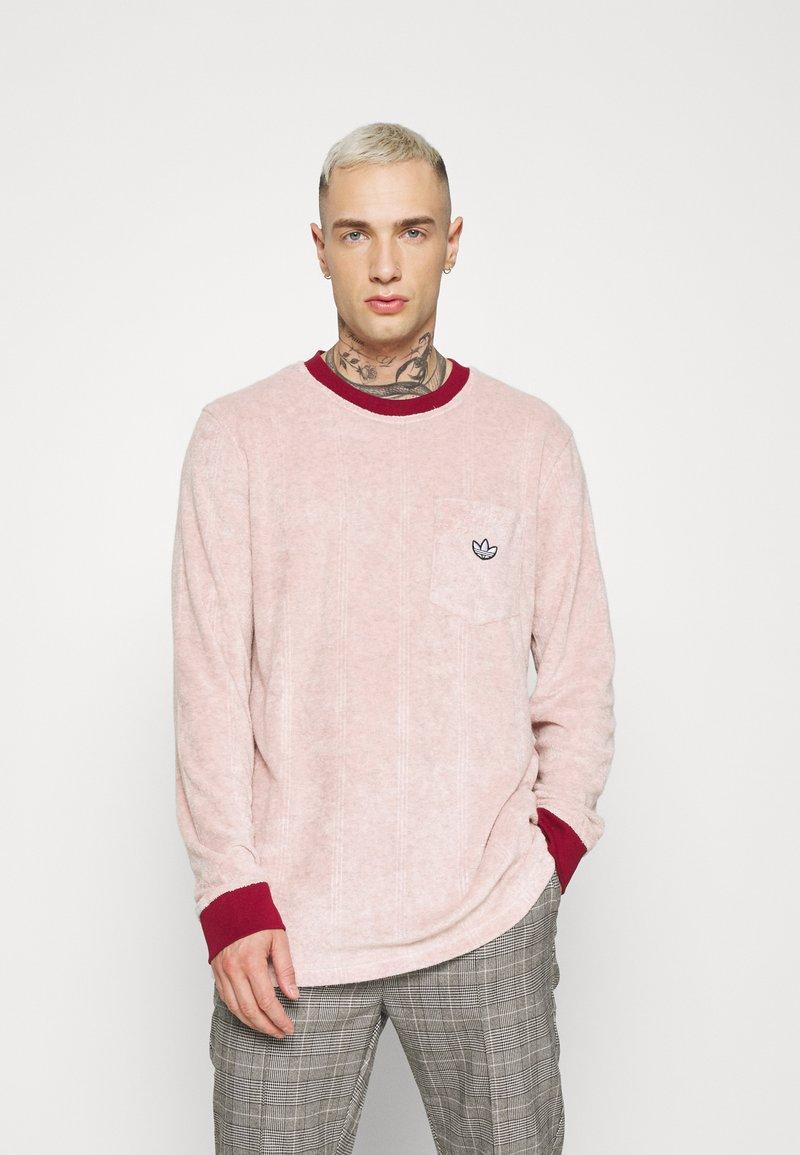 adidas Originals - SAMSTAG TERRY - Long sleeved top - pink