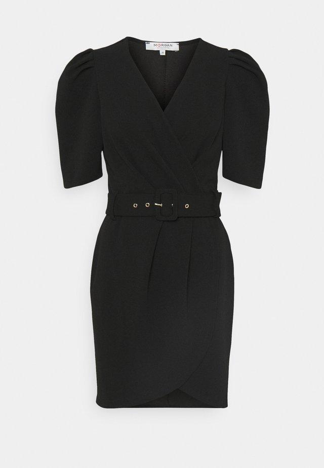 RVIRA - Jerseyklänning - noir