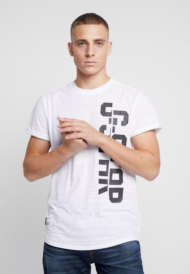 LASH GR - T-shirts print - white