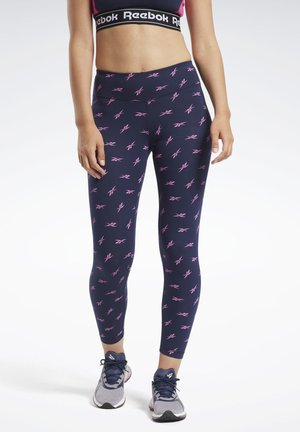 TRAINING ESSENTIALS VECTOR LEGGINGS - Leggings - blue