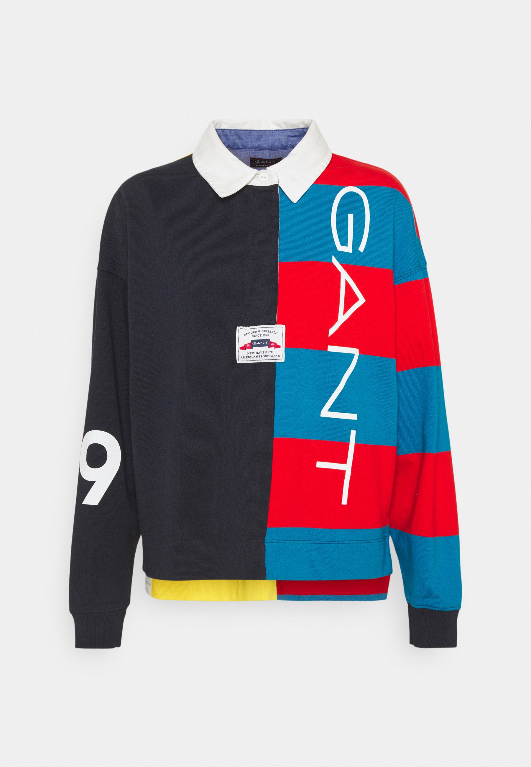 Women BLOCK HEAVY RUGGER - Sweatshirt