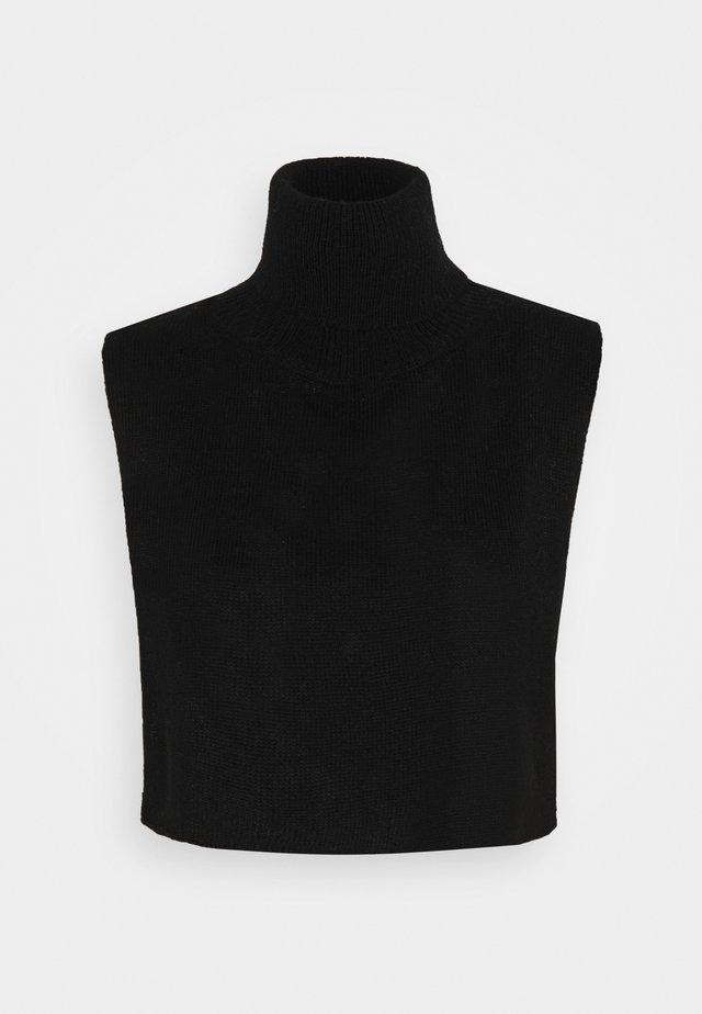 PCRINKA NECKWARMER - Linne - black