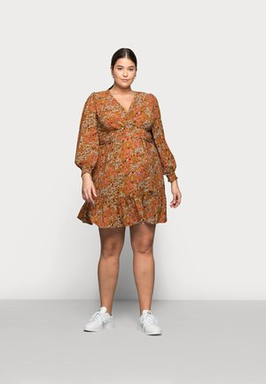 MLJADINE DRESS - Jersey dress - meerkat