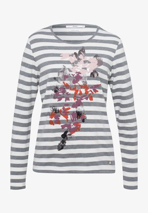 STYLE CARINA - Long sleeved top - graphit mel.
