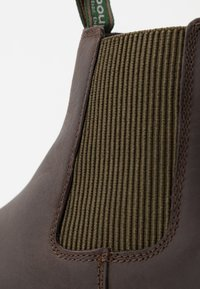Barbour - FARSLEY - Classic ankle boots - choco - 5