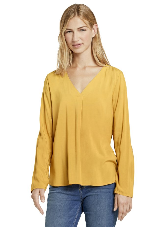 Tunic - indian spice yellow
