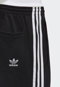 adidas Originals - BIG TREFOIL ABSTRACT POLYESTER TRACKSUIT BOTTOM - Tracksuit bottoms - black - 7