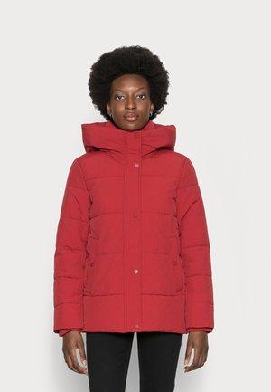 Winter jacket - dark red