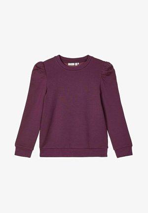 Sweatshirt - italian plum