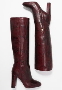 TWINSET - Højhælede støvler - beet red - 3