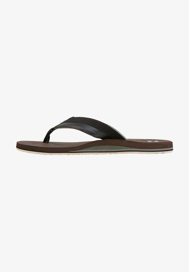 ALL DAY IMPACT - T-bar sandals - dark brown