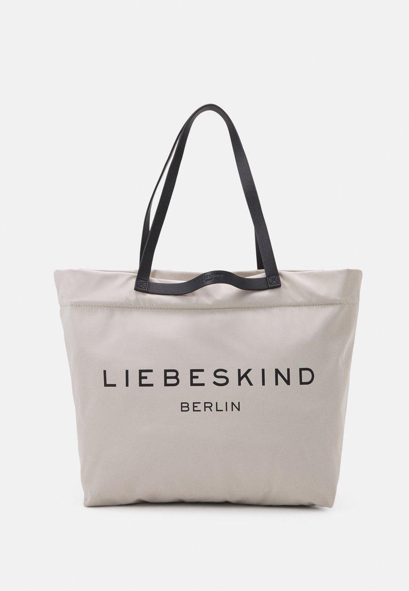 Liebeskind Berlin - AURORA ZIP - Tote bag - pale moon