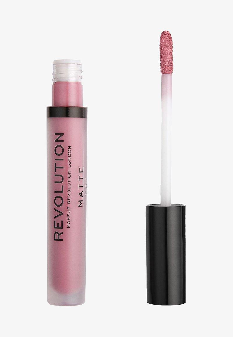 Make up Revolution - MATTE LIP - Flüssiger Lippenstift - violet