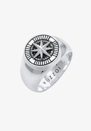 COMPASS DESIGN - Ring - silber