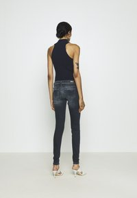 ONLY - ONLCORAL LIFE - Jeans Skinny Fit - blue black denim - 2