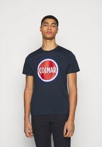 Colmar Originals - FIFTH - Print T-shirt - navy - 0