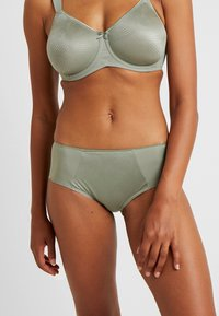 Triumph - ESSENTIAL MINIMIZER HIPSTER - Pants - moss green old - 0