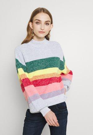 Strikkegenser - multicoloured
