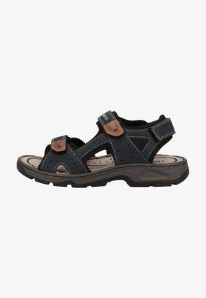 Walking sandals - pazifik/amaretto/schwarz