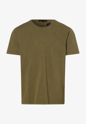 SAMUEL - Basic T-shirt - oliv