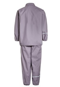 CeLaVi - RAINWEAR SUIT BASIC SET WITH FLEECE LINING - Rain trousers - nivana - 2