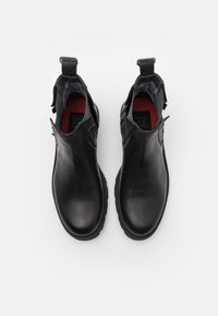 Shelby & Sons - RIDGACRE CHELSEA BOOT - Kovbojské/motorkářské boty - black - 3