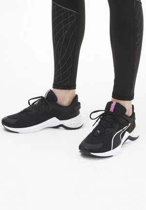 Neutral running shoes - black-luminous pink