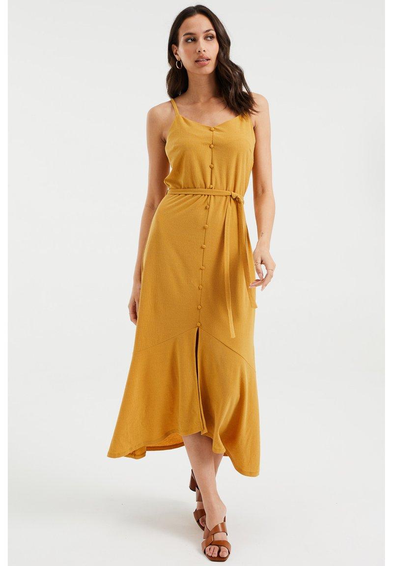 WE Fashion - Maxi dress - ochre yellow