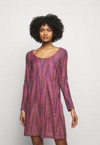 M Missoni - ABITO - Gebreide jurk - purple - 0