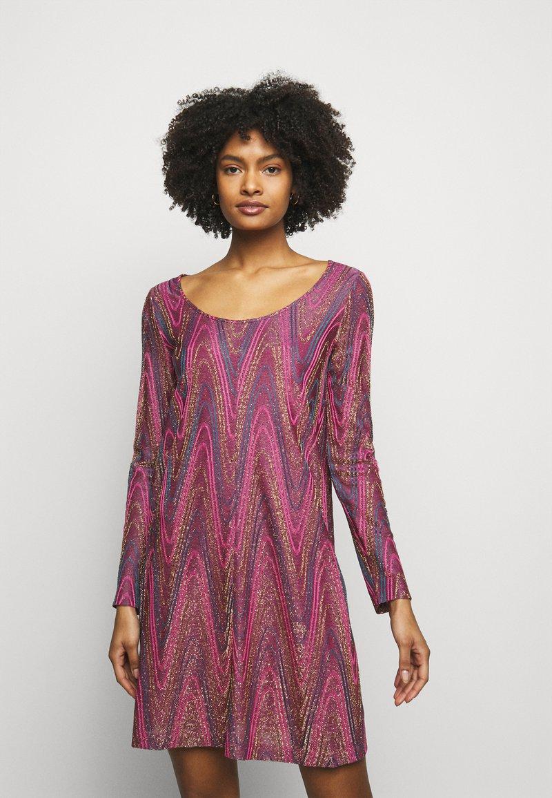 M Missoni - ABITO - Gebreide jurk - purple