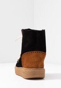 Victoria Shoes - UTOPÍA APRESKI VALENTIN - Kotníkové boty na platformě -  black - 5