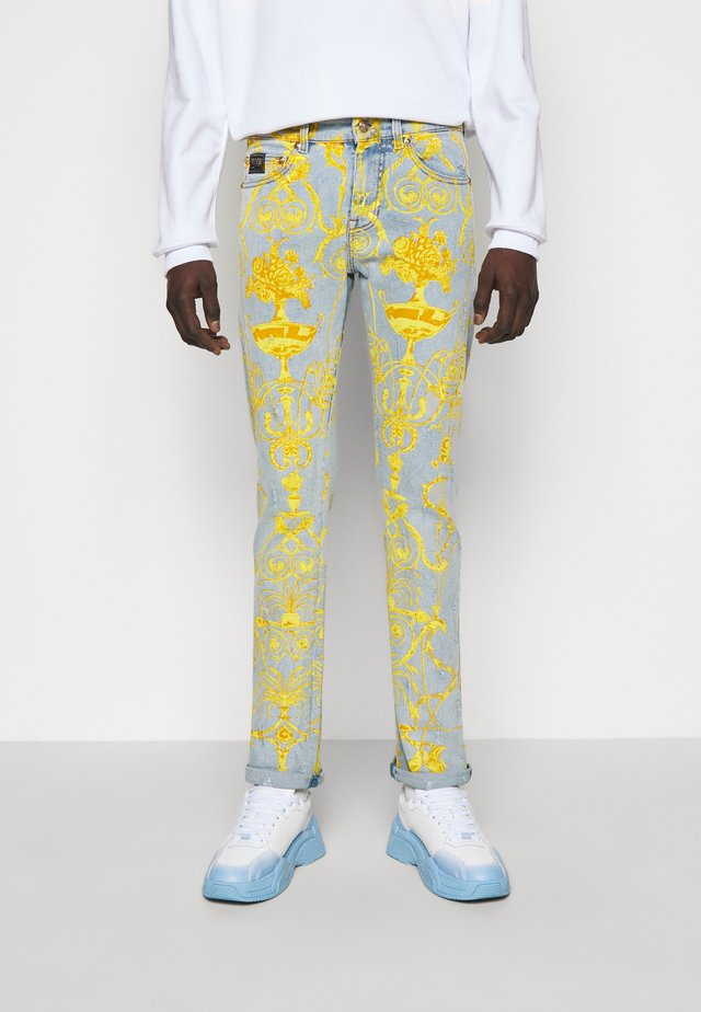 HARRY - Slim fit jeans - light-blue denim