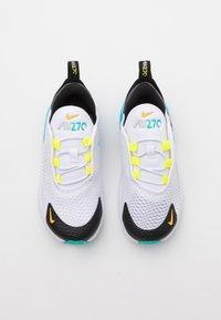 Nike Sportswear - AIR MAX 270 UNISEX - Sneakers laag - white/hyper jade/black/light graphite - 3