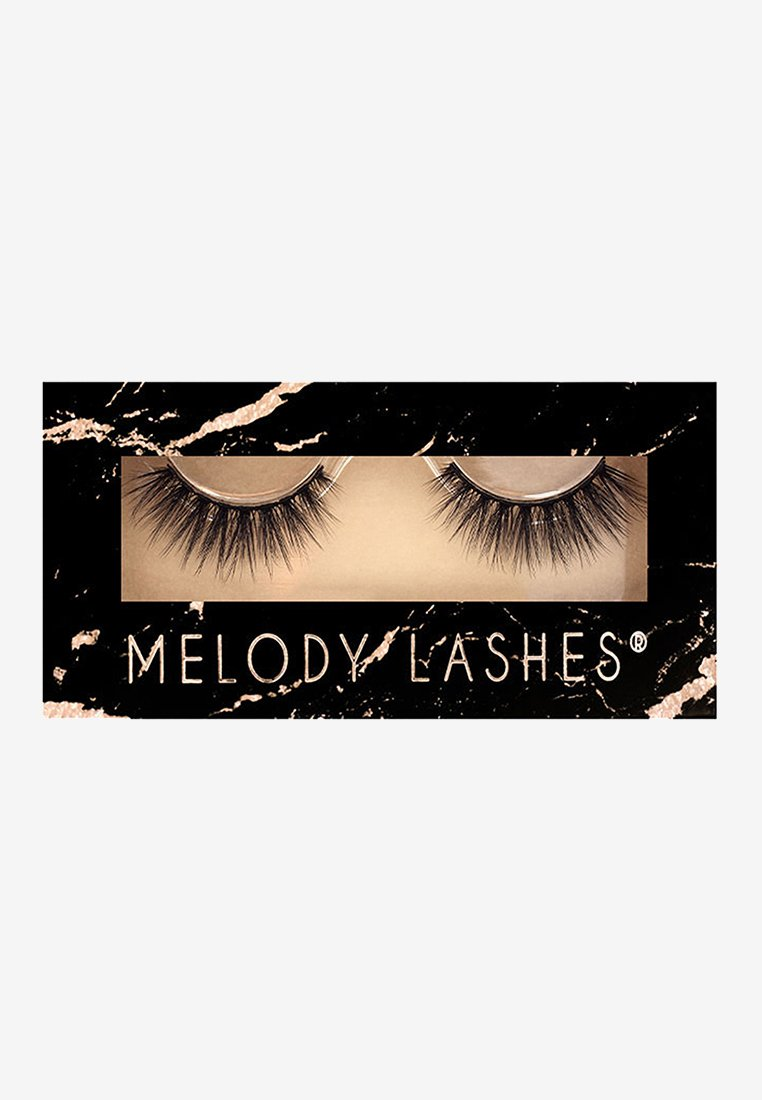 Melody Lashes - BOUJEE - False eyelashes - black