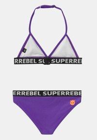 SuperRebel - SET - Bikini - fluo purple - 1