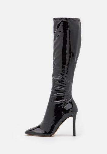 EDIGORWEN - High heeled boots - black