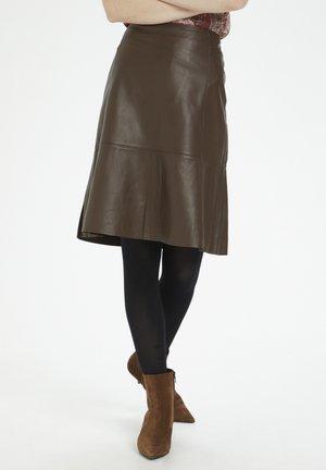 SHIBACR - A-line skirt - carafe