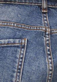 PULL&BEAR - Džíny Slim Fit - mottled dark blue - 5