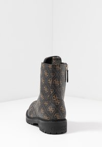 Guess - TALISI - Lace-up ankle boots - brown/ocra - 5