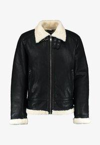 Be Edgy - BEANDREW - Leather jacket - black/white - 4