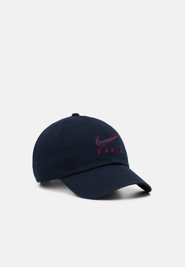 FC BARCELONA - Casquette - dark obsidian/noble red