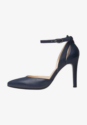 Zapatos altos - blu