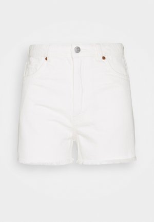 KELLY - Jeansshorts - off white
