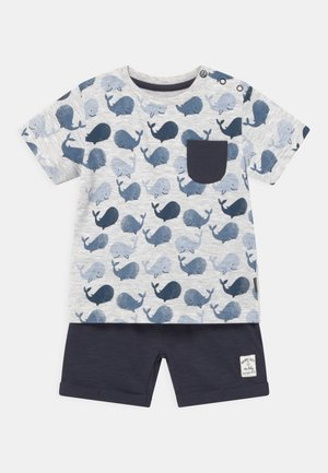 SET - Print T-shirt - dark blue