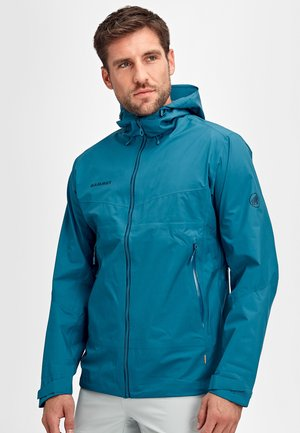 CONVEY TOUR HOODED JACKET MEN - Hardshell jacket - sapphire