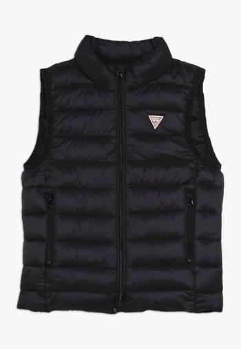 TODDLER PADDED CORE UNISEX - Waistcoat - jet black