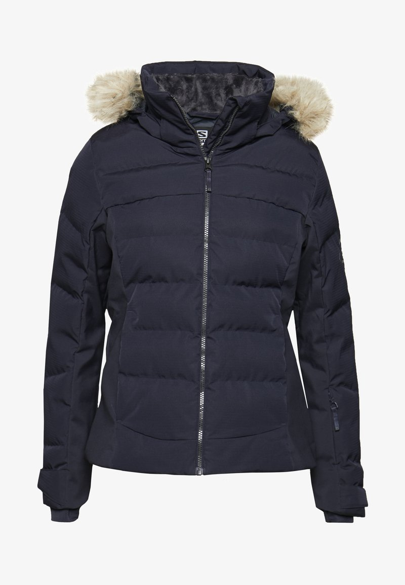 Salomon - STORMCOZY JACKET - Ski jas - night sky