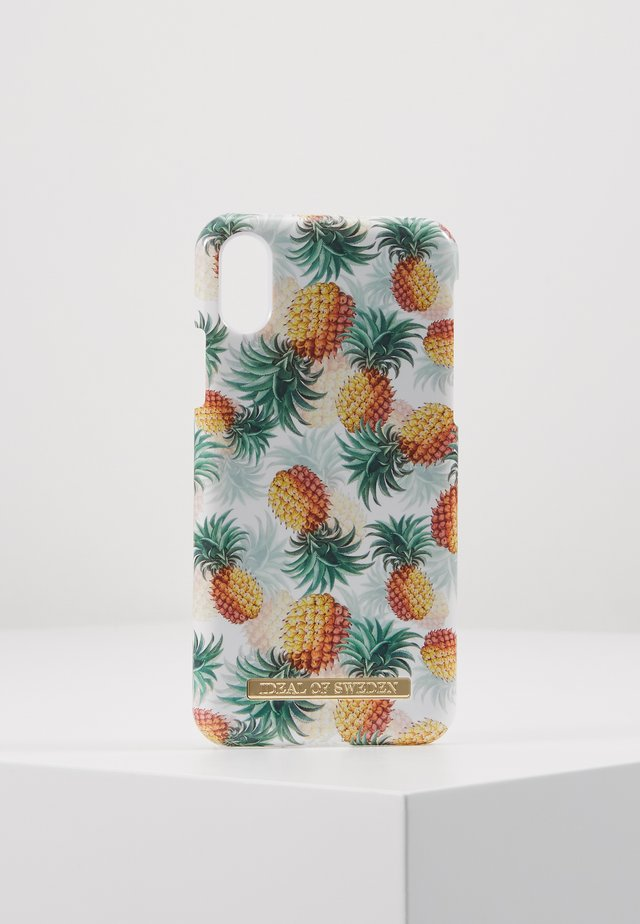 FASHION CASE IPHONE X/XS - Mobilväska - pineapple bonanza