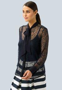 Alba Moda - Button-down blouse - marineblau - 4