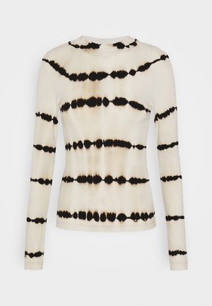 VERA MOCKNECK - Long sleeved top - tie dye